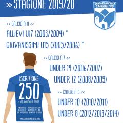 Stagione Sportiva 2019/20